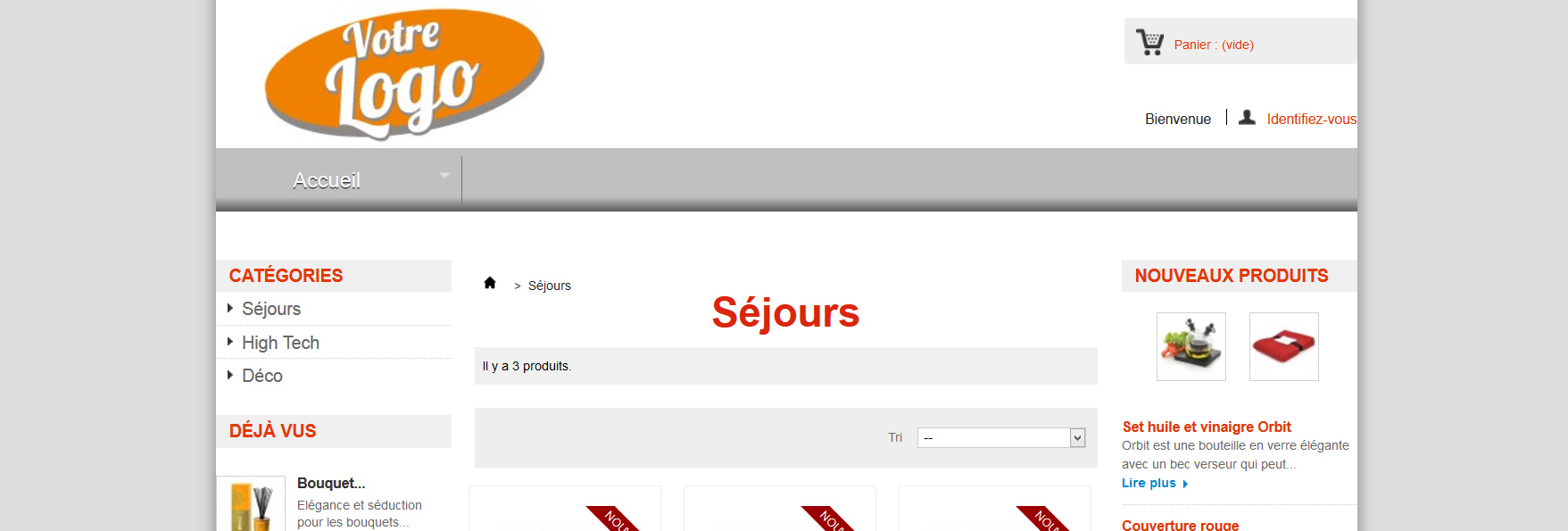 site gestion de catalogue